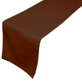 Chocolate Table Runners 14x108 inch